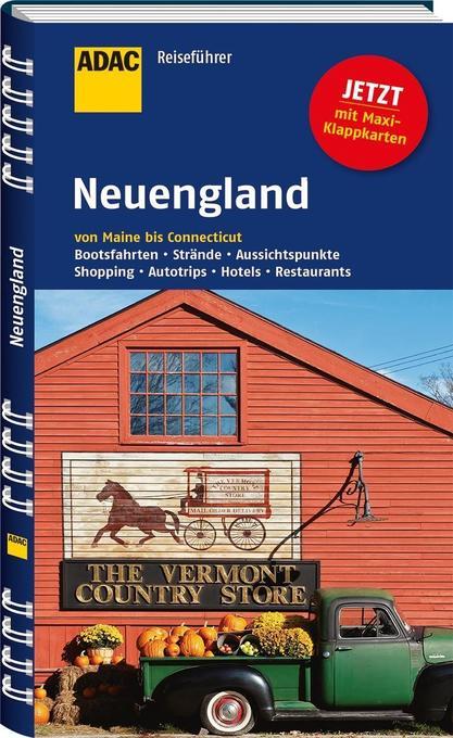 ADAC Reiseführer Neuengland von Maine bis Conne...