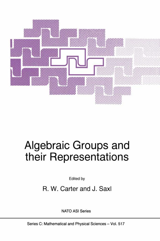 Algebraic Groups and Their Representations als Buch