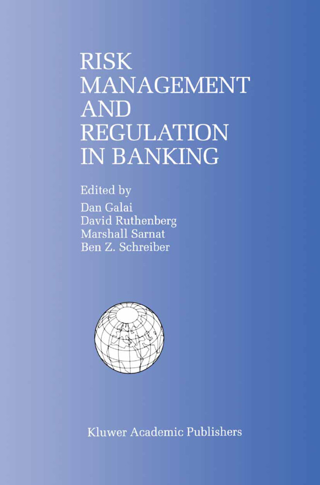 Risk Management and Regulation in Banking als Buch