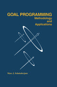 Goal Programming: Methodology and Applications