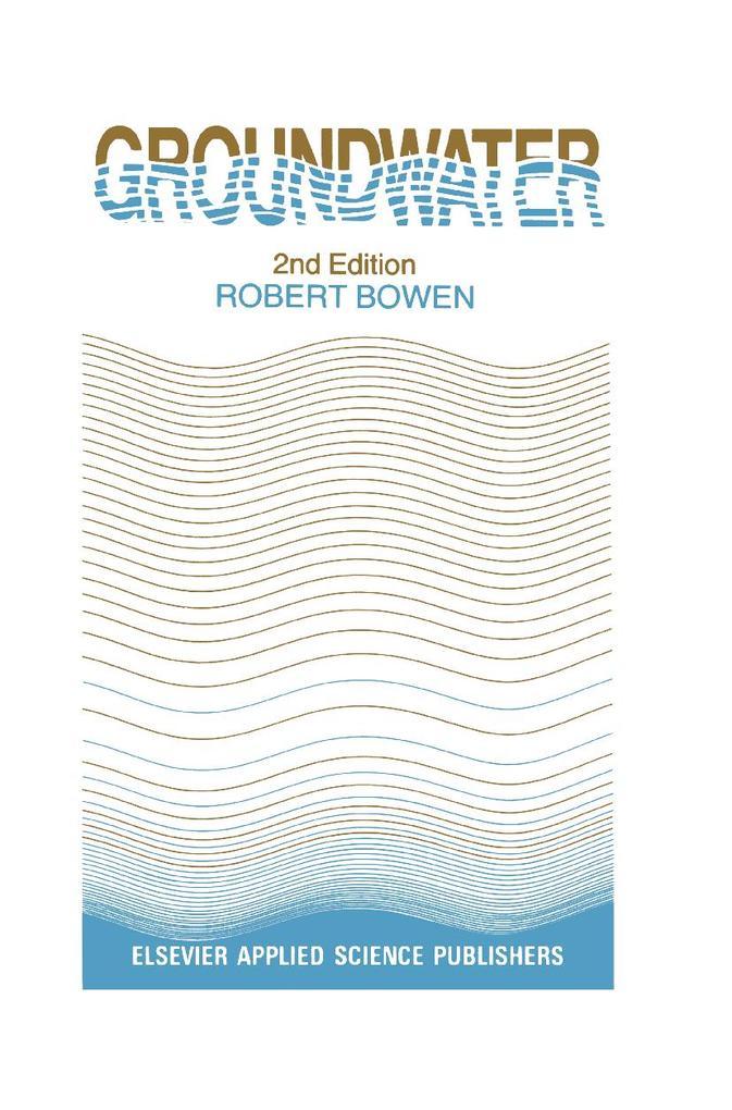Groundwater als Buch
