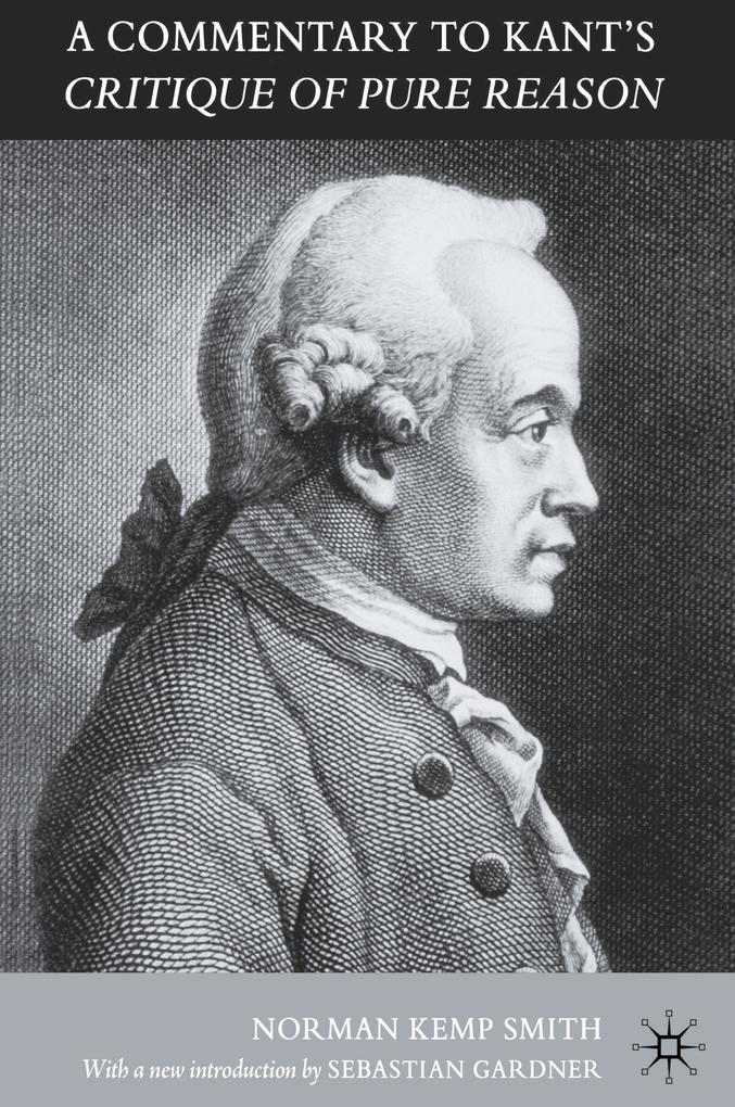 A Commentary to Kant's `Critique of Pure Reason' als Buch