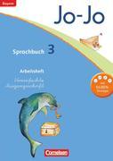 Jo-Jo Sprachbuch - Grundschule Bayern. 3. Jahrgangsstufe - Arbeitsheft in Vereinfachter Ausgangsschrift