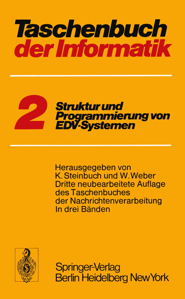 Taschenbuch der Informatik als Buch von T. Hein...