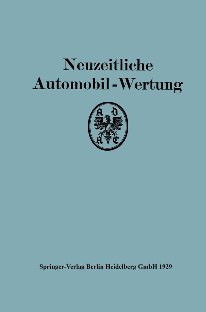 Neuzeitliche Automobil-Wertung als Buch von All...