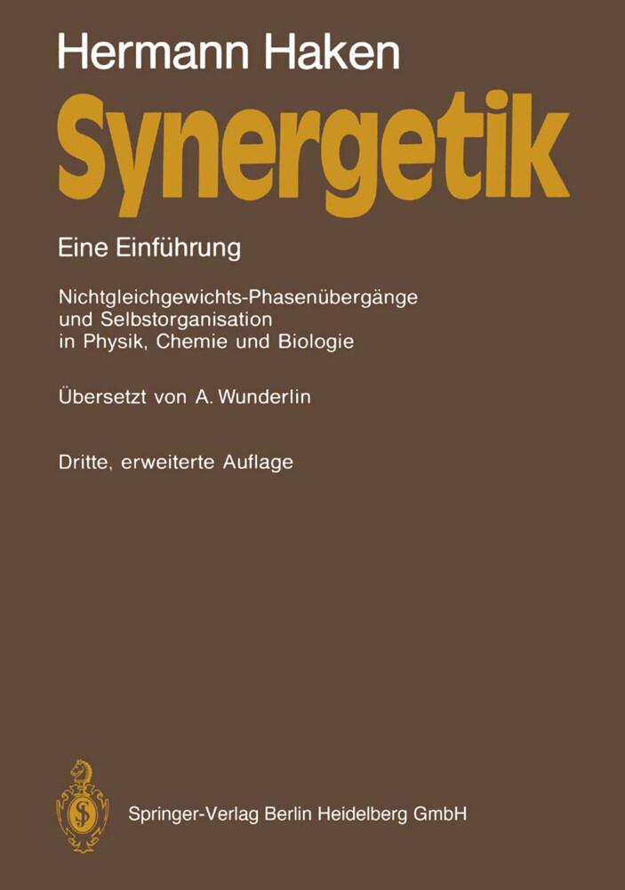 Synergetik als Buch von Hermann Haken