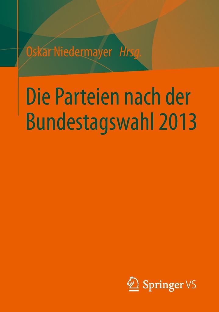 Die Parteien nach der Bundestagswahl 2013 als B...
