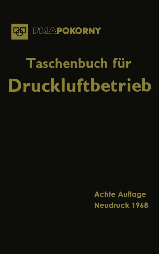 Taschenbuch für Druckluftbetrieb als Buch von V...