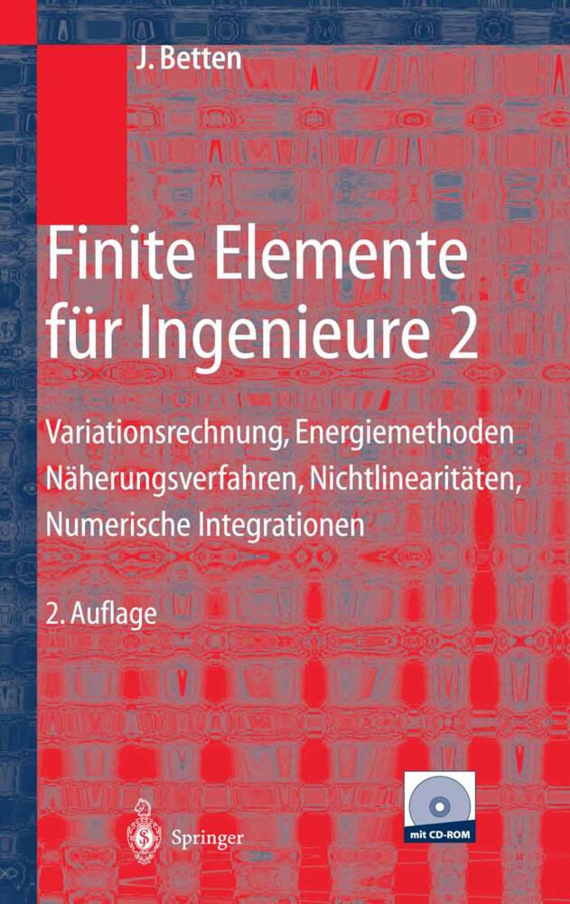 Finite Elemente für Ingenieure 2 als Buch von J...