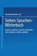 Sieben-Sprachen-Wörterbuch