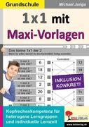 1x1 mit Maxi-Vorlagen