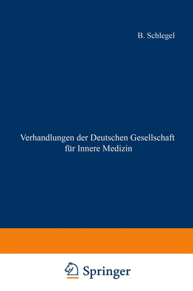 Verhandlungen der Deutschen Gesellschaft für In...