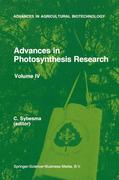 Advances in Photosynthesis Research: Proceedings of the Vith International Congress on Photosynthesis, Brussels, Belgium, August 1-6, 1983. Volume IV