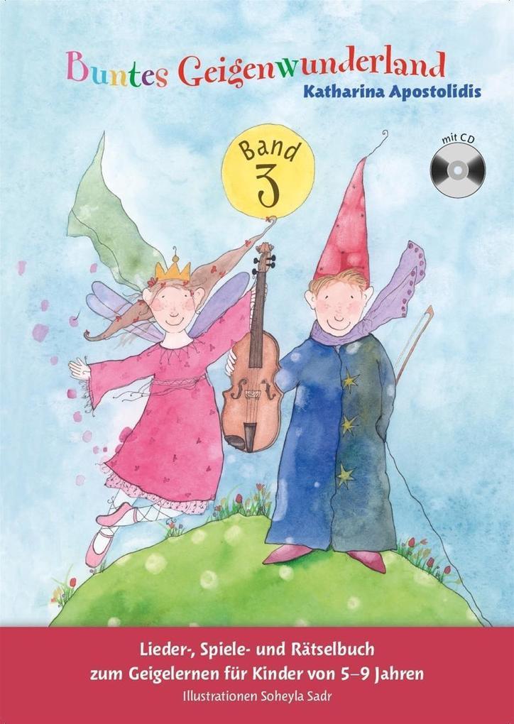 Buntes Geigenwunderland: Band (Book/CD) (Violin...