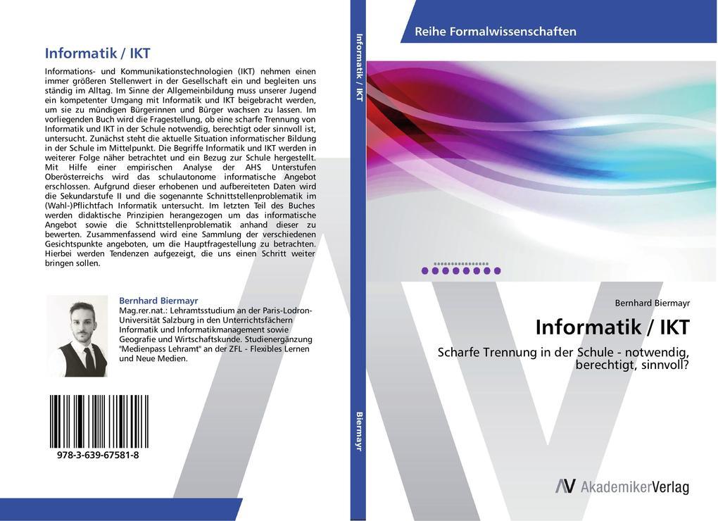 Informatik / IKT als Buch von Bernhard Biermayr