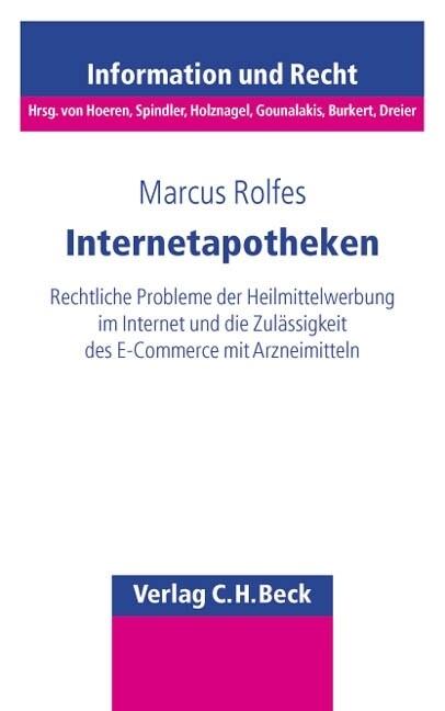 Internetapotheken als Buch