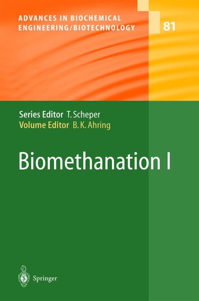 Biomethanation I als Buch
