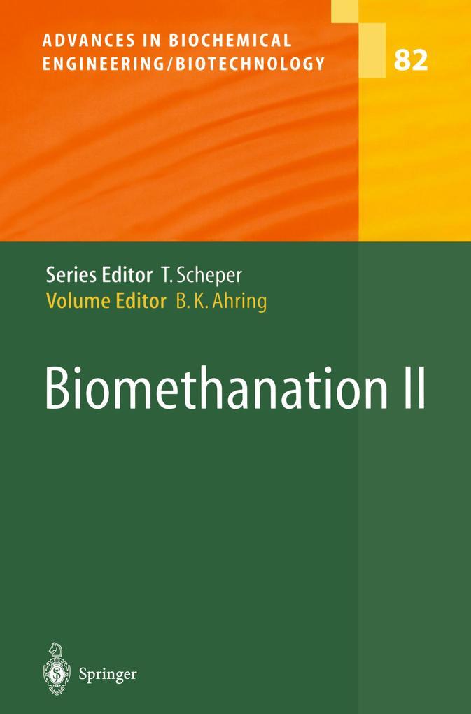 Biomethanation II als Buch