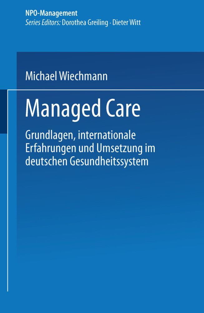Managed Care als Buch