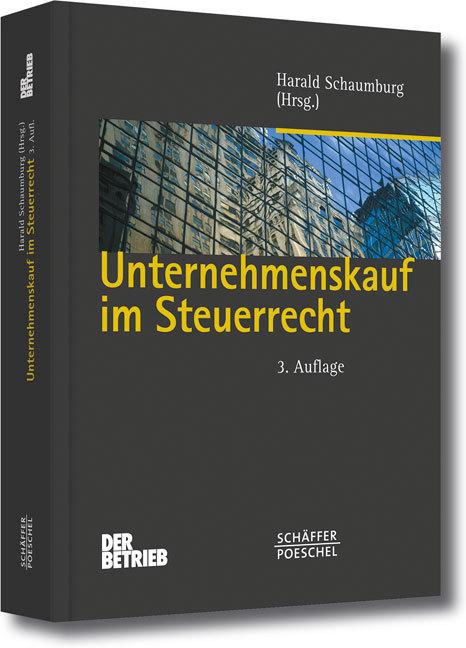 Unternehmenskauf im Steuerrecht als Buch