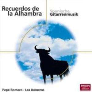 Spanische Gitarrenmusik als CD