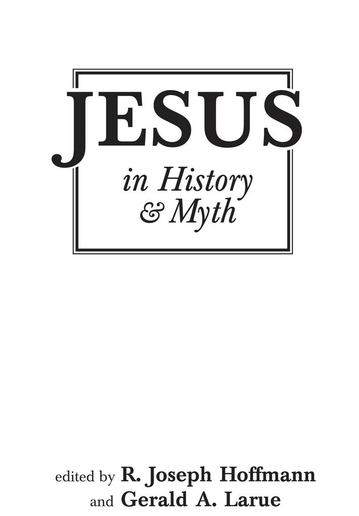 Jesus in History and Myth als Buch