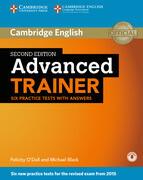 Advanced Trainer. Six Practice Tests with answers and downloadable audio