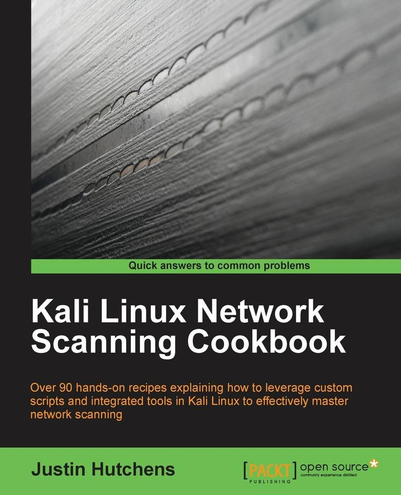Kali Linux Network Scanning Cookbook als Buch v...