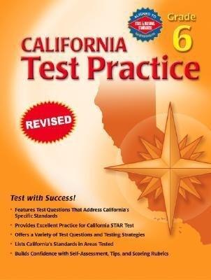 California Test Practice, Grade 6 als Taschenbuch