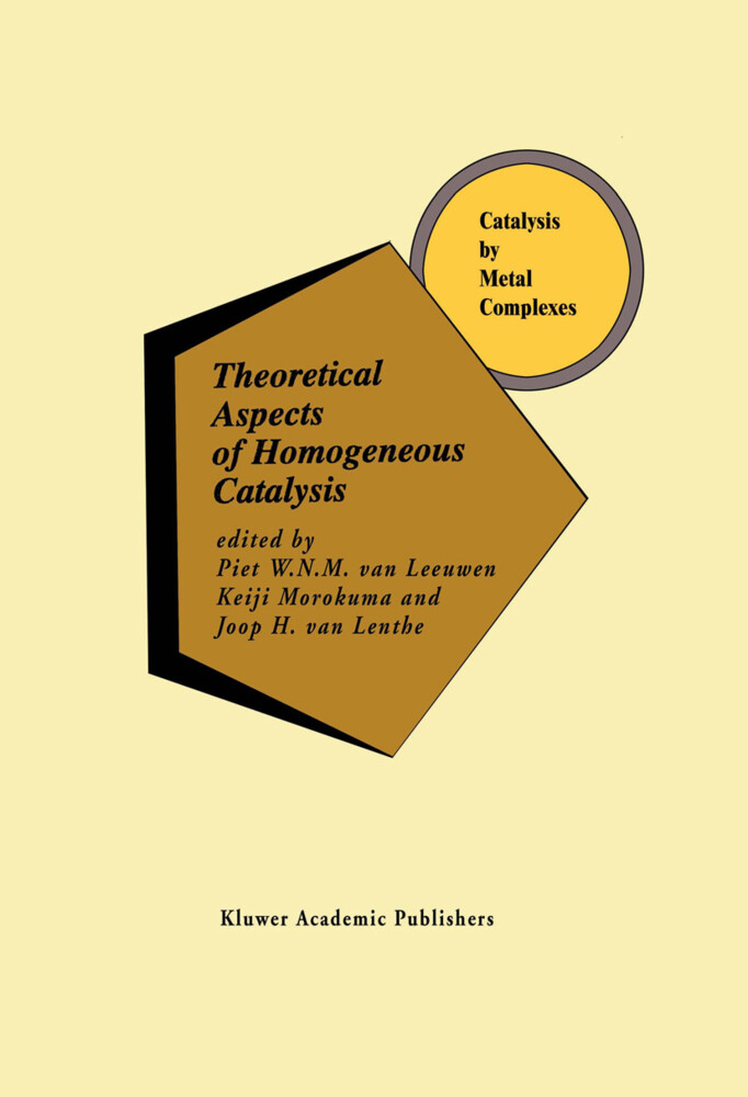 Theoretical Aspects of Homogeneous Catalysis als Buch