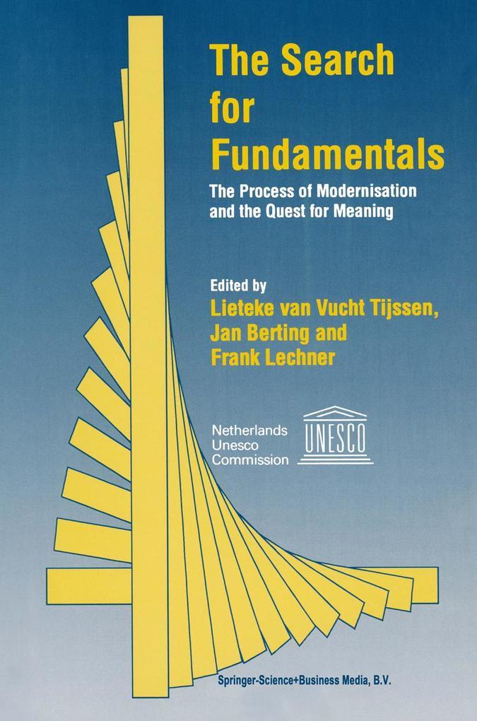 The Search for Fundamentals als Buch (gebunden)