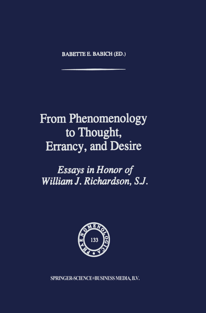 From Phenomenology to Thought, Errancy, and Desire als Buch