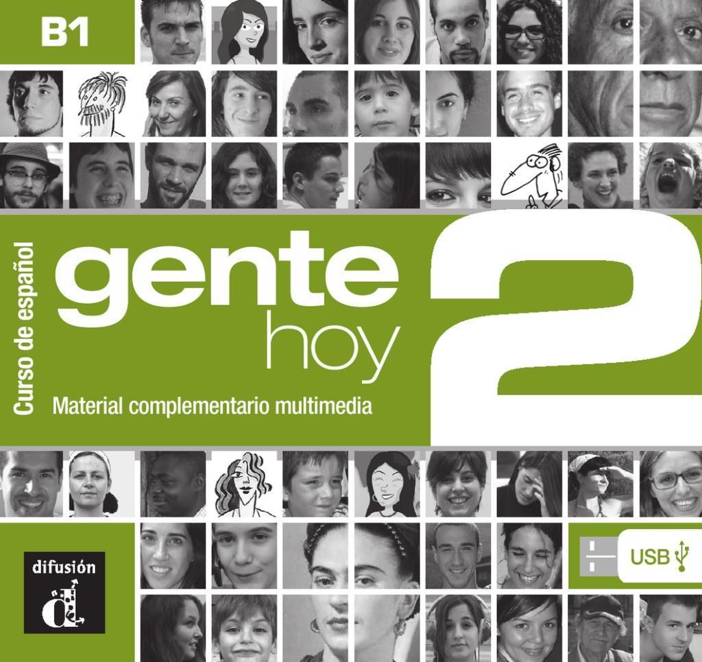 Gente hoy 2. Manual digital USB (incl. Libro de...