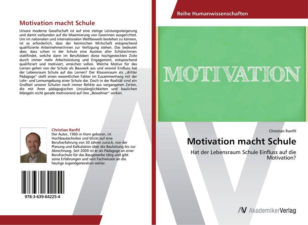 Motivation macht Schule als Buch von Christian ...