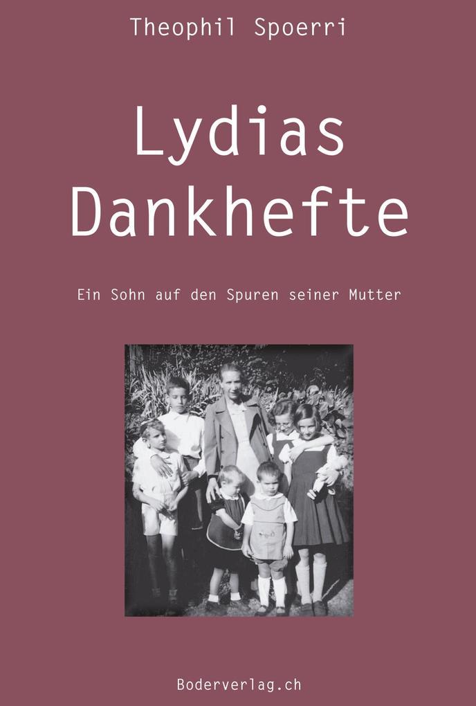 Lydias Dankhefte als Buch