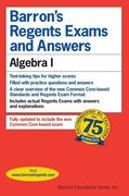Regents Exams and Answers: Algebra I