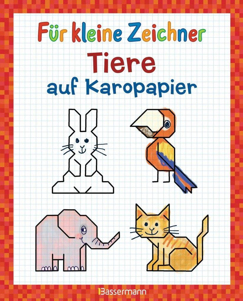 Für kleine Zeichner - Tiere auf Karopapier als Buch