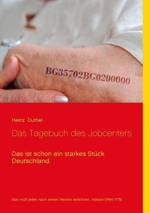 Das Tagebuch des Jobcenters als Buch