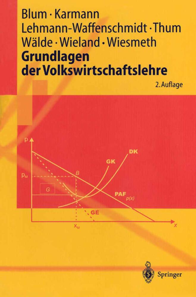 Grundlagen der Volkswirtschaftslehre als Buch