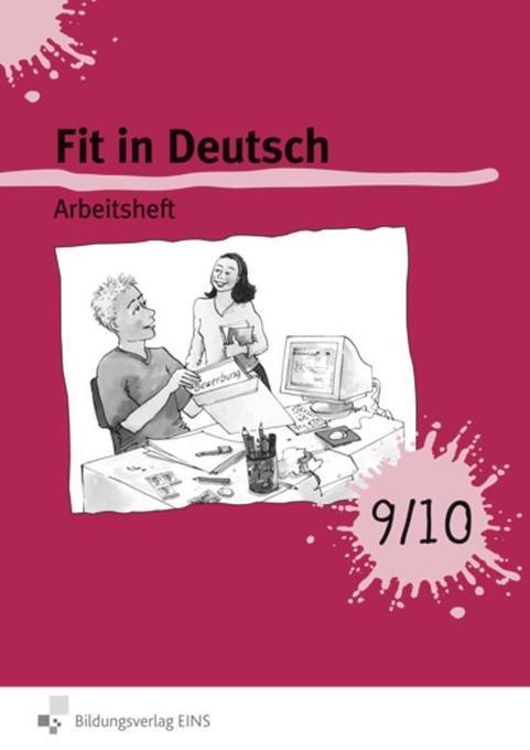 Fit in Deutsch! 9/10. Arbeitsheft als Buch