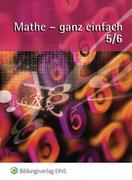 Mathe - ganz einfach 5/6. Schülerbuch