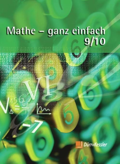Mathe - ganz einfach 9/10. Schülerbuch als Buch