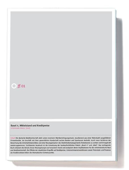 Basel II, Mittelstand und Kreditpreise als Buch