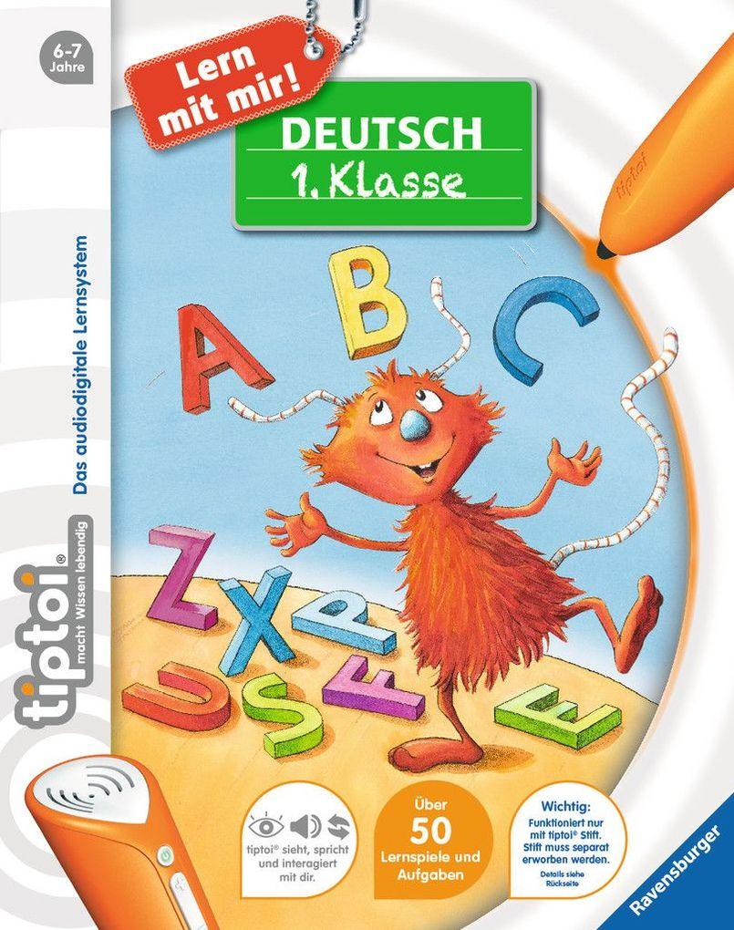 tiptoi® Deutsch 1. Klasse als Buch