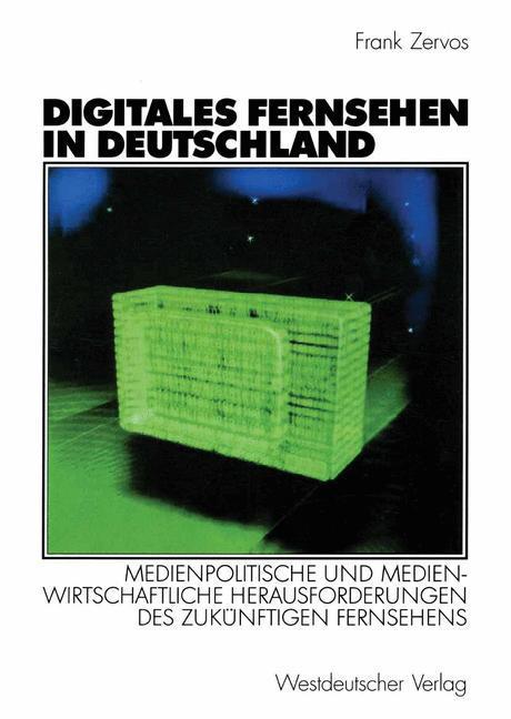 Digitales Fernsehen in Deutschland als Buch
