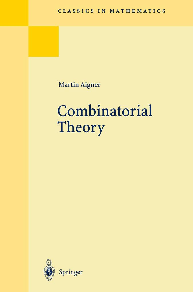 Combinatorial Theory als Buch