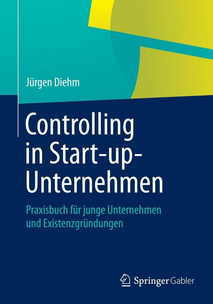 Controlling in Start-up-Unternehmen als eBook D...