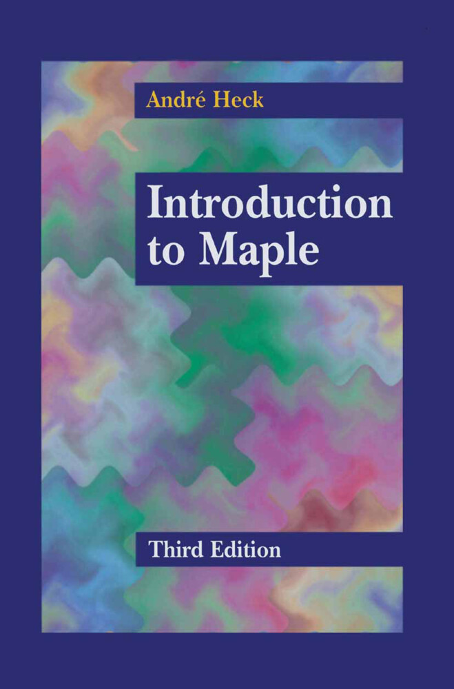 Introduction to Maple als Buch
