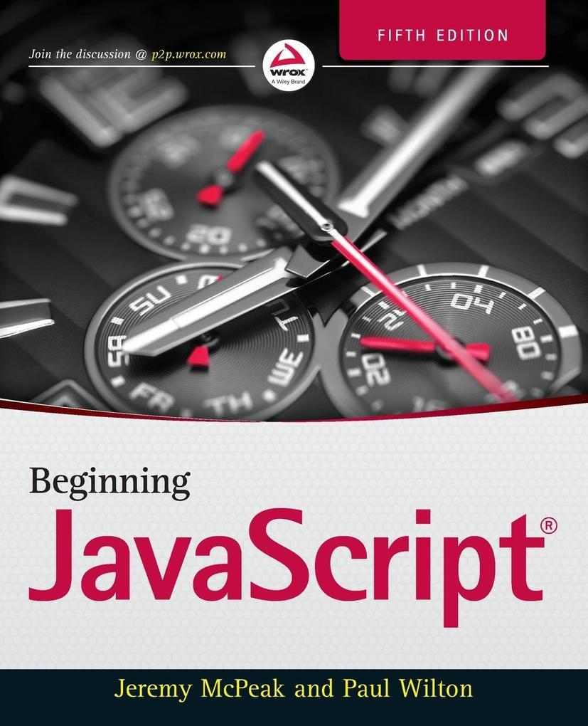 Beginning JavaScript als Buch von Jeremy McPeak