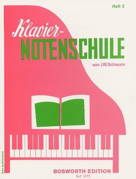 Klavier-Notenschule 2 als Buch